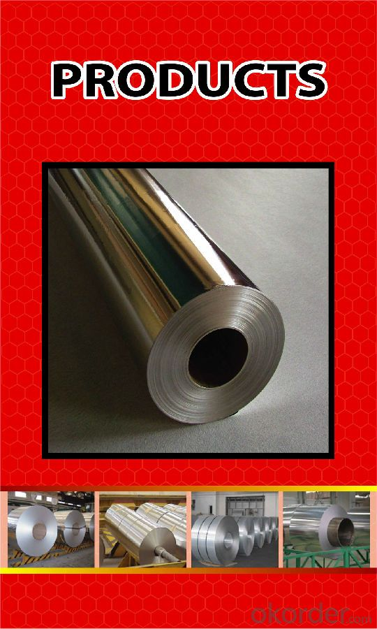 Aluminium Foil for Household Used Food Grade