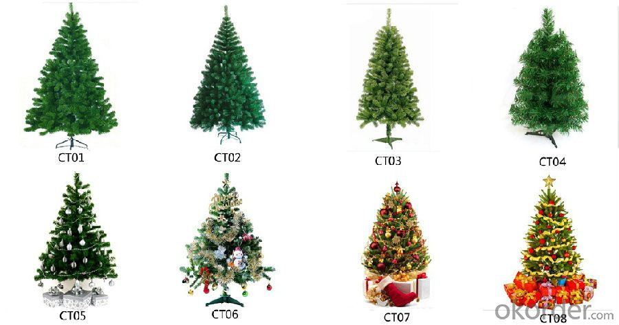 Artificial Christmas Tree for Outdoor with Customized Design