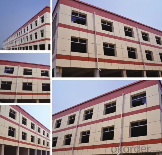 Colored Paint Exterior Insulation and Finish System Panel(EIFS Panel)