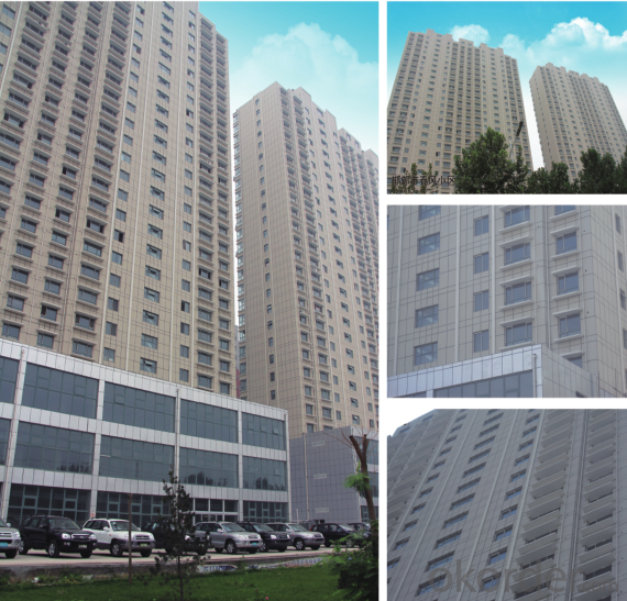Metallic Fluorocarbon Paint Exterior Insulation and Finish System Panel(EIFS Panel)