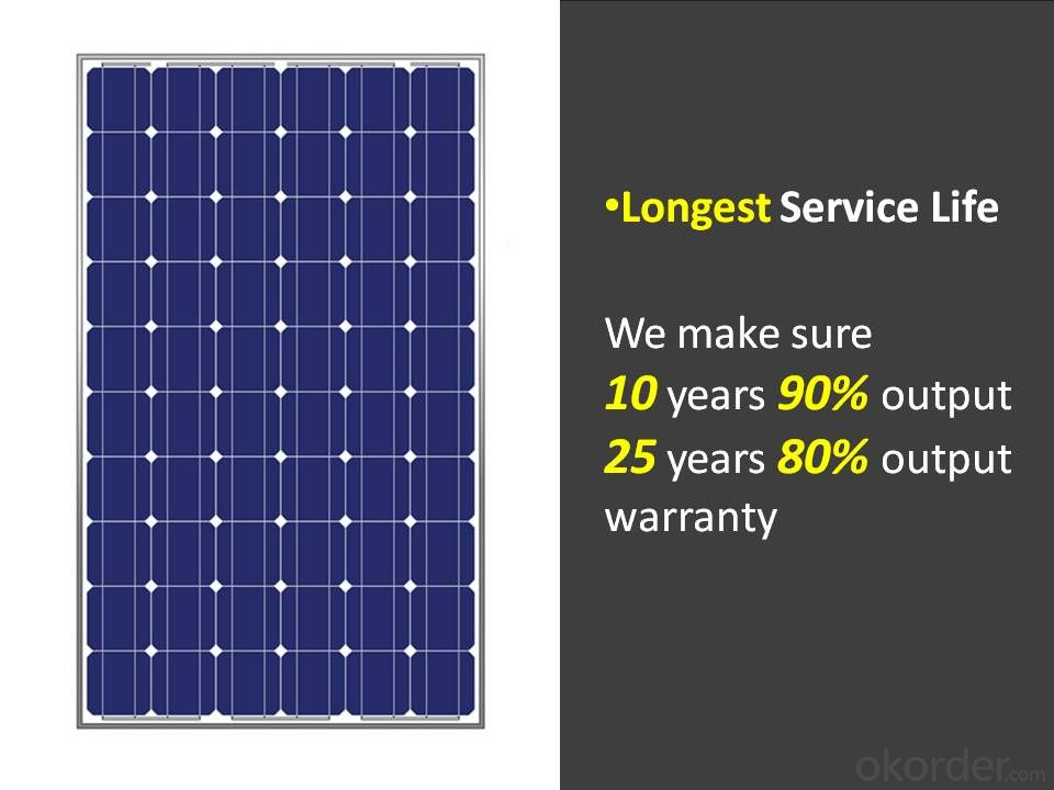 255W Solar Panel A Grade Manufacturers in china