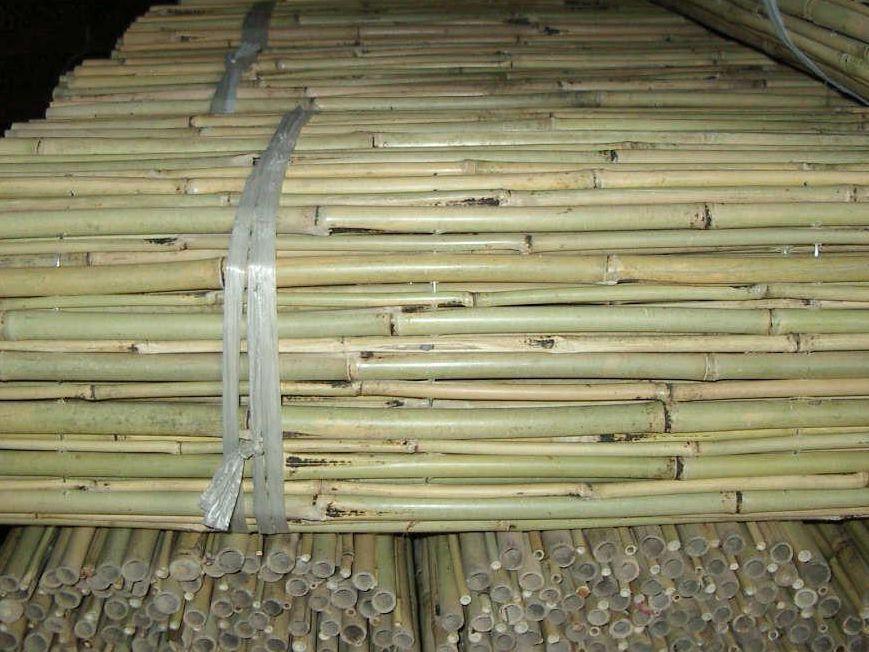 Natural Bamboo Pole Sticks Natural Bamboo