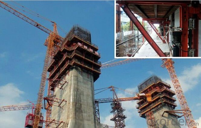 Auto-climbing Formwork with Easy Handling Hydraulic System