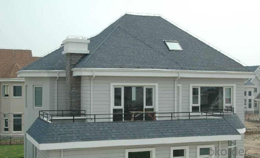 Colorful Fiberglass Asphalt Roofing Shingles