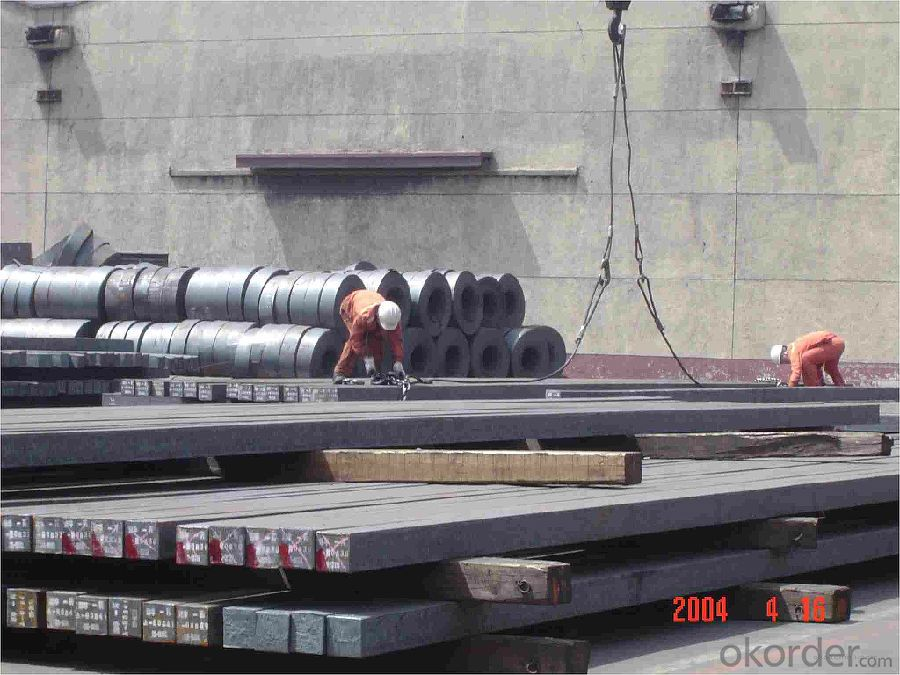 Q235/3SP 115MM Blast Furnace Hot Rolled Steel Billet