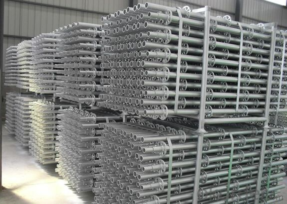 Ring-lock Scaffolding with Galvanized Surface Treatment