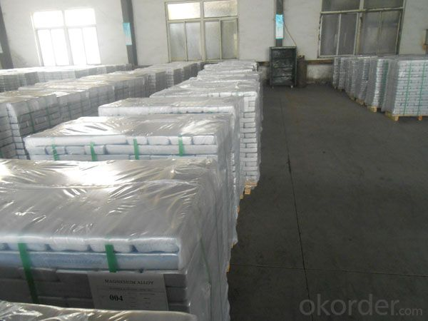 Mg Alloy Ingots magnesium alloys AZ91D  hot sell Mg Alloy Ingots 2015