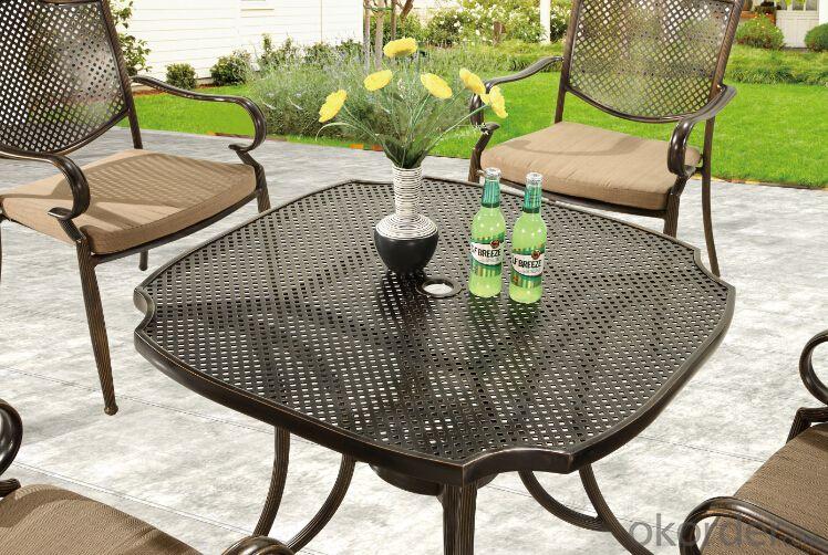 Aluminium Garden Sets Model CMAX-T01for BBQ