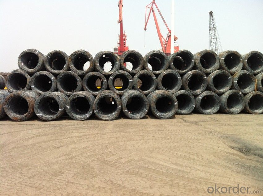 Hot Rolled Steel Wire Rods with Grade ASTM SAE1008