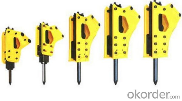 Hydraulic Rock Breaker Hammer Komatsu PC40 Parts for Excavator