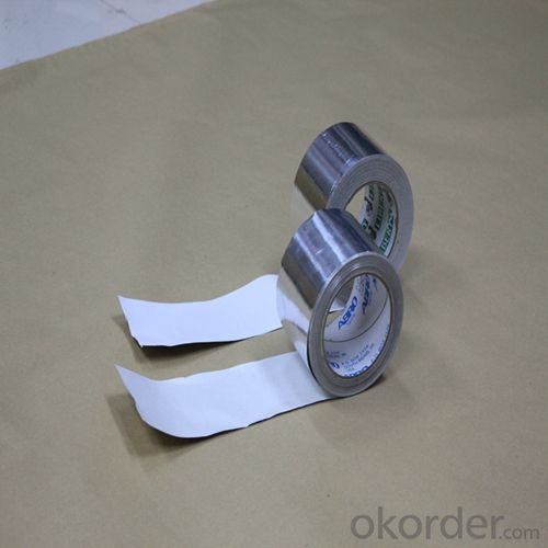 Aluminum Foil Self-Adhesive Tape with Silicon Release Paper