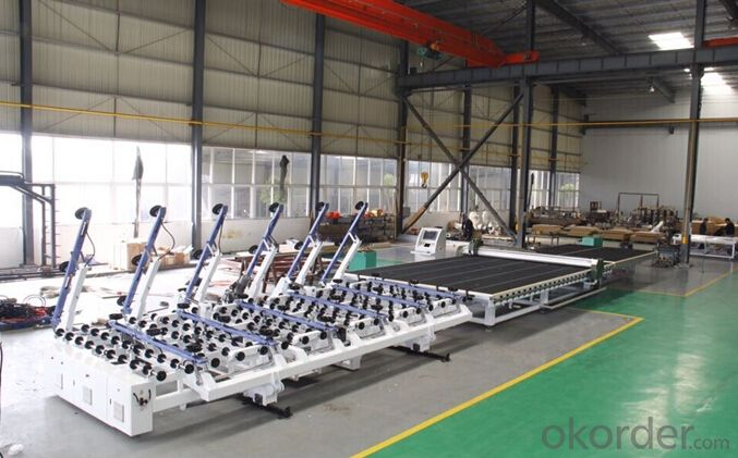 2015 Full and Semi automatic glass cutting machine