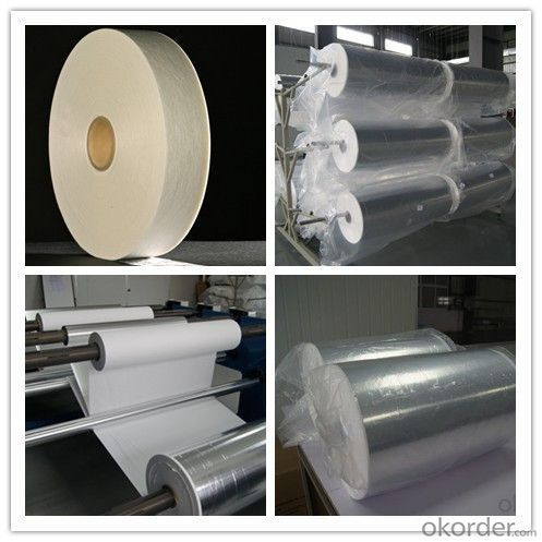Cryogenic Insulation Paper Aluminum Foil Composite
