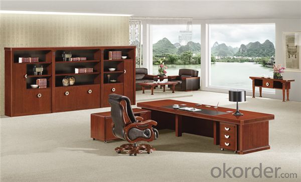 Office Executive Desk with MDF and Vaneer