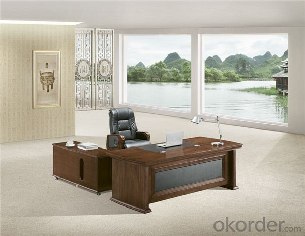 Commercial Table with MDF and Vaneer for Manager