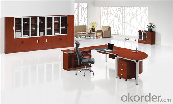 Vaneer Office Table with Environmental Material