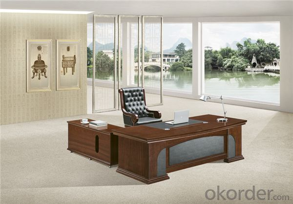 Office Executive Table with E1 Standard MDF Based