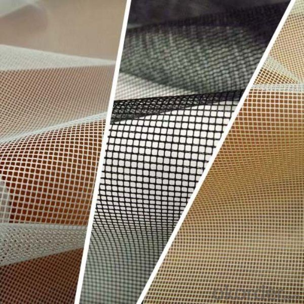 Any Size and Material PVC Fiberglass Mesh