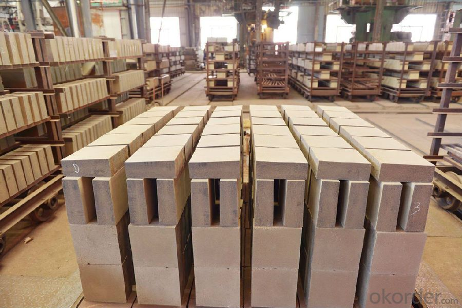High Compressive Strength Corundum Refractory Brick