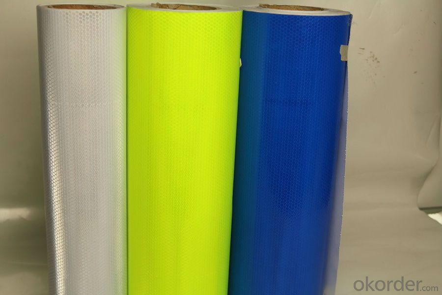 Excellent Retro Reflective Printing Material PVC Reflective Material