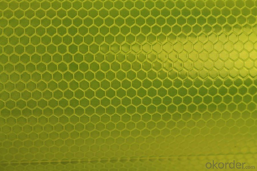 Honeycomb Shape Printed  Reflective Tape for Vehicle