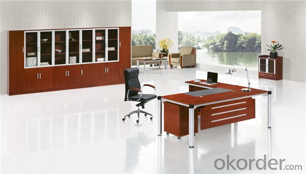 Office Desk with Vaneer Painting for Manager