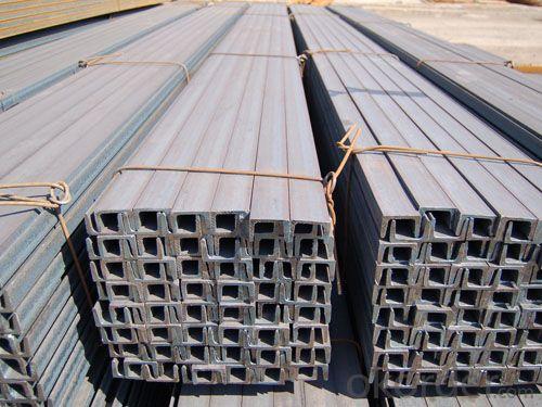 Steel JIS U Channel Hot Rolled High Quality