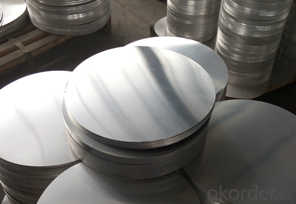 Aluminum Circle Sheet with Hot Rolled AA1100
