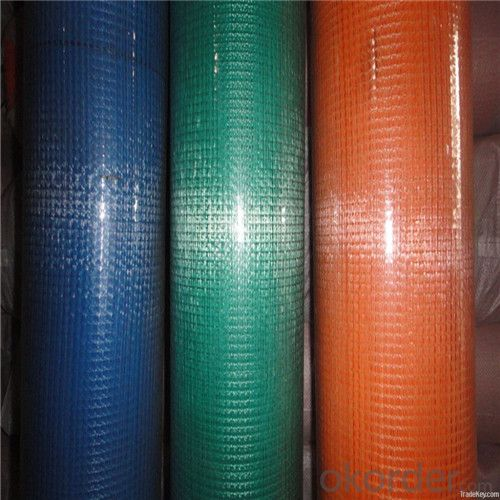 Alkali Resistant Coated Fiberglass Soft Mesh 80g/m2 5*5mm  High Strength