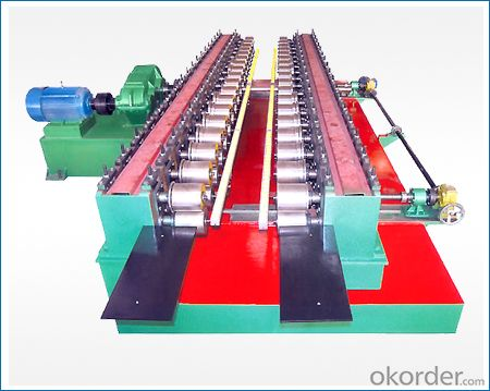 Cable Tray Roll Forming Machine with High Automation