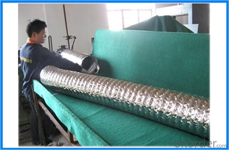 Double Layer Aluminum Flexible Duct for Air Conditioning Refrigeration