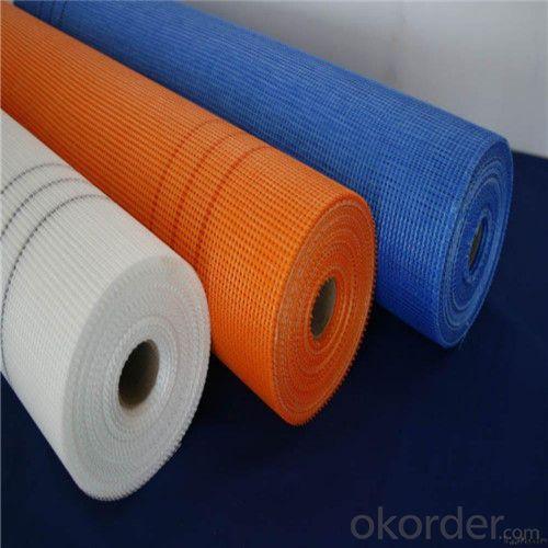 Alkali Resistant Coated Fiberglass Soft Mesh 90g/m2 5*5mm  High Strength