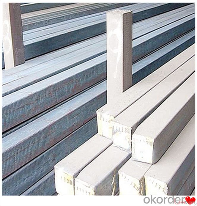 Steel Billet for Rebar Steel Q235,Q255,Q275,Q345,3SP,5SP,20MnSi