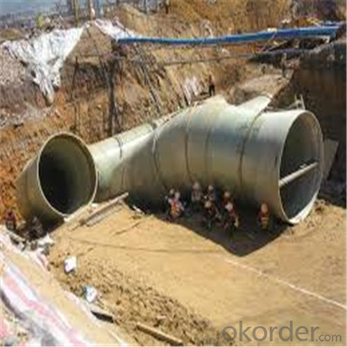 GRE PIPE ( Glass Reinforced Epoxy pipe)Pipeline of Crude Oil