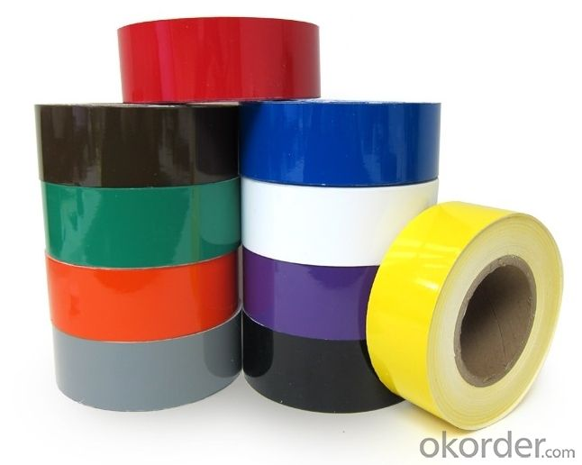 Colorful PVC Tape with Many Thickness Available