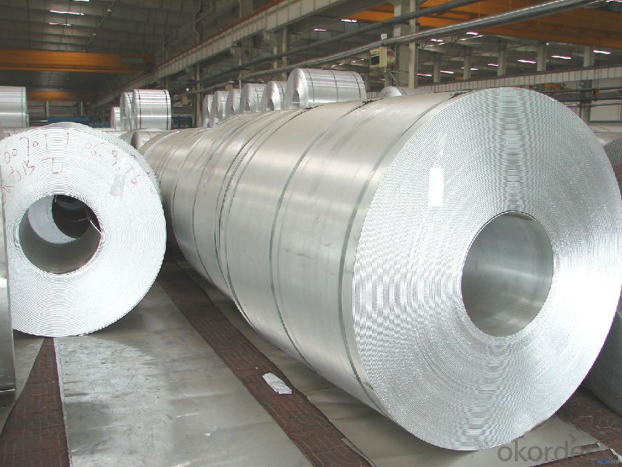 DC and CC 1/3/5/6/8 Series Mill Finished Aluminium Coil