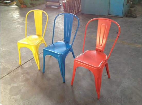 Dinning Chair Plastic & Wood & Metal Model CMAX-PP871