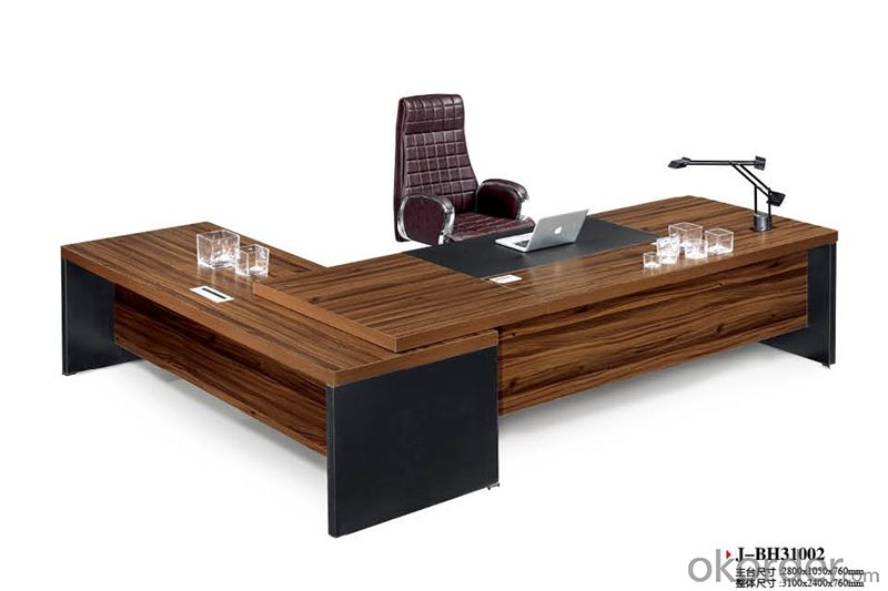 Commercial Executive Desk with MFC Material