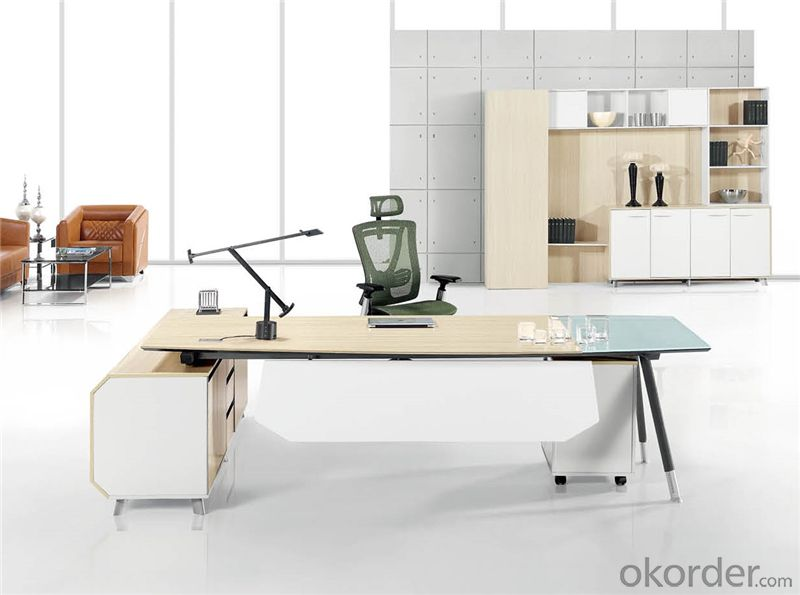 Executive Desk with MFC Material for Managers