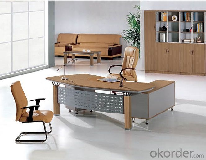Executive Desk with Environmental Material
