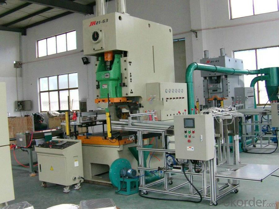 Disposable Aluminium Container Making Machine