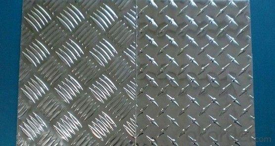 3mm Anti Slip Embossed Aluminum Checker Plate Sheet