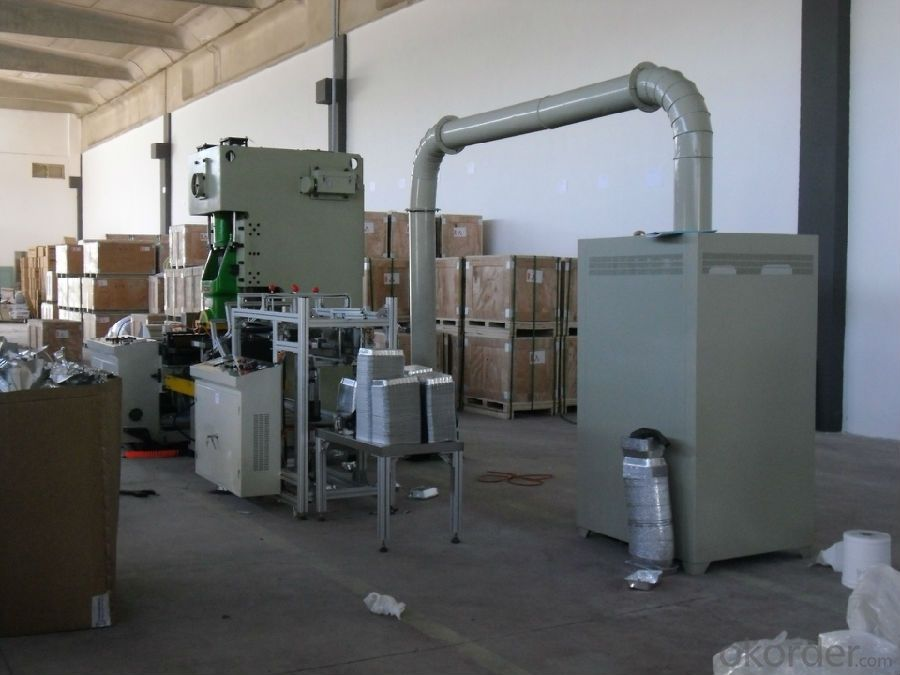 Vertical Type Aluminum Foil Container Making Machine with CE