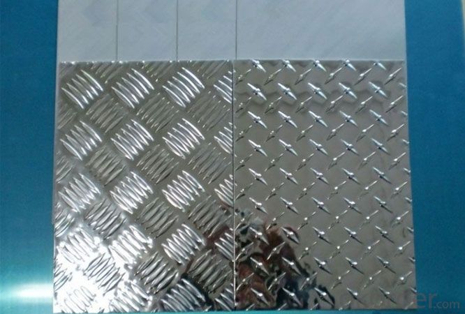 Decorative Embossed Aluminum Sheet from China