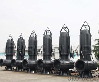 WQ Series Sewage Vertical Centrifugal Pump high performance