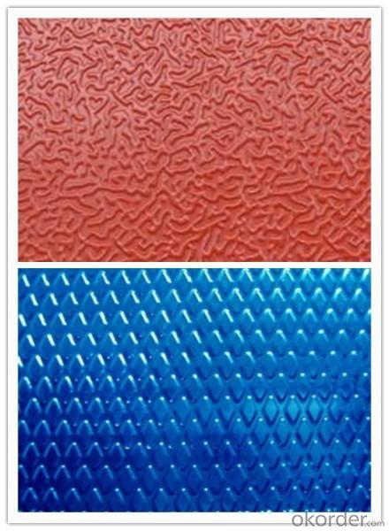 1100 3003 5052 5754 5083 6061 7075 Non-Slip Alloy Aluminum Sheet Embossed Plate