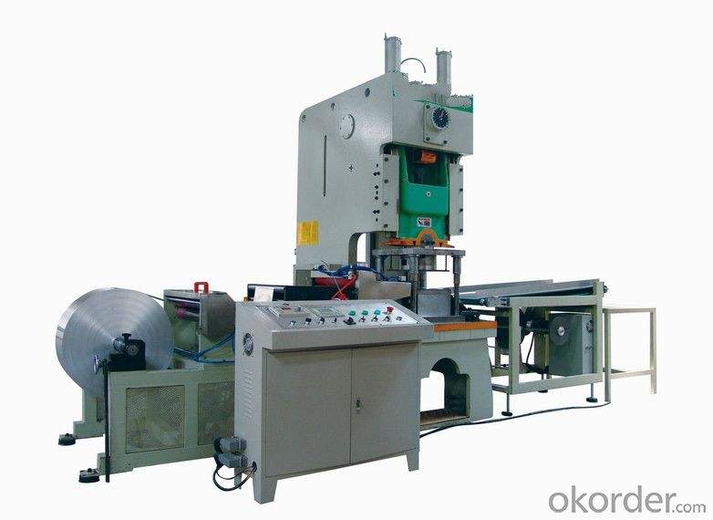 Best high Speed Quality Assured Proper Aluminum Foil Container Making Machine
