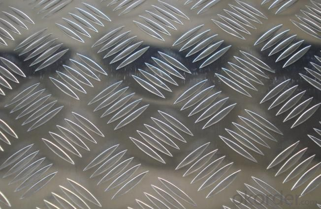Decorative Embossed Aluminum Sheet from Mill