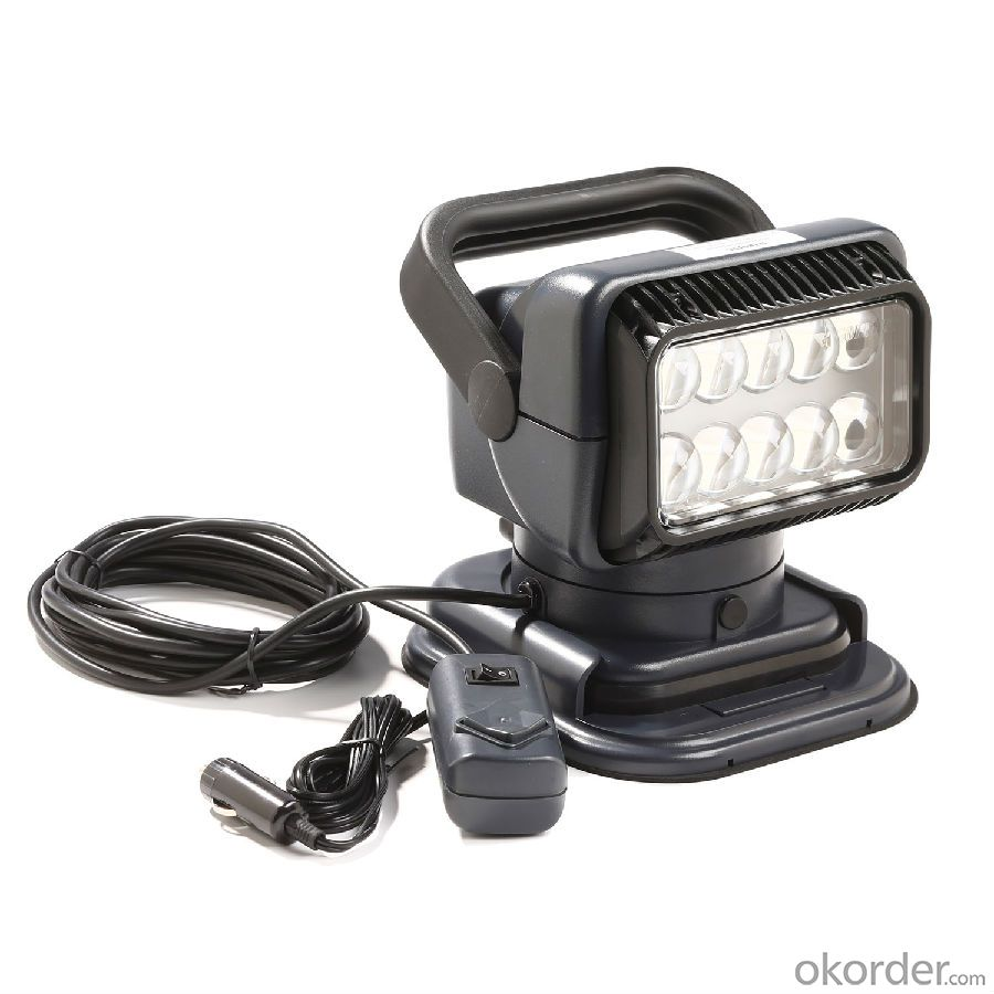 waterproof 50w led work light heavy duty searchlight