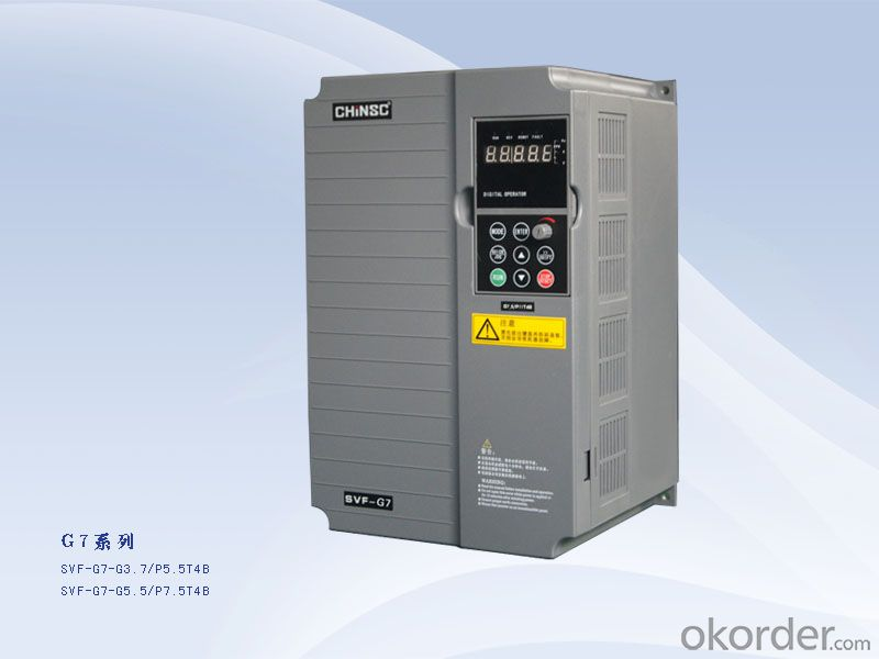 3.7kw ac frequency drive frequency converter 380v